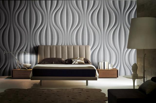 Questa muro di mattoni carta da parati in grigio è un ottimo modo per. Carta Da Parati Per Camere Da Letto Ecco Quale Scegliere Idealista News