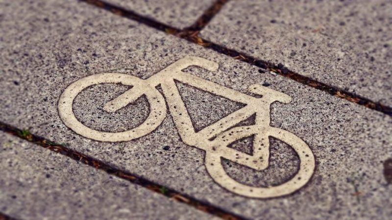 Cycle path e-bike sustainibility
