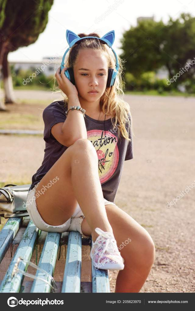 Cute Teen Girl In The Summer Time Stock Image
