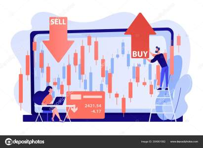stock market concept vector illustration vector image by visualgeneration vector stock 304901592