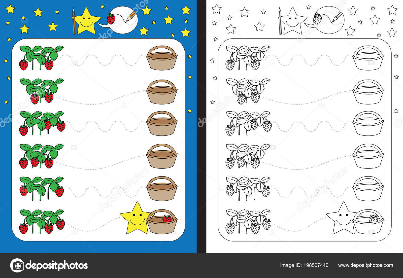 Preschool Worksheet Practicing Fine Motor Skills Tracing