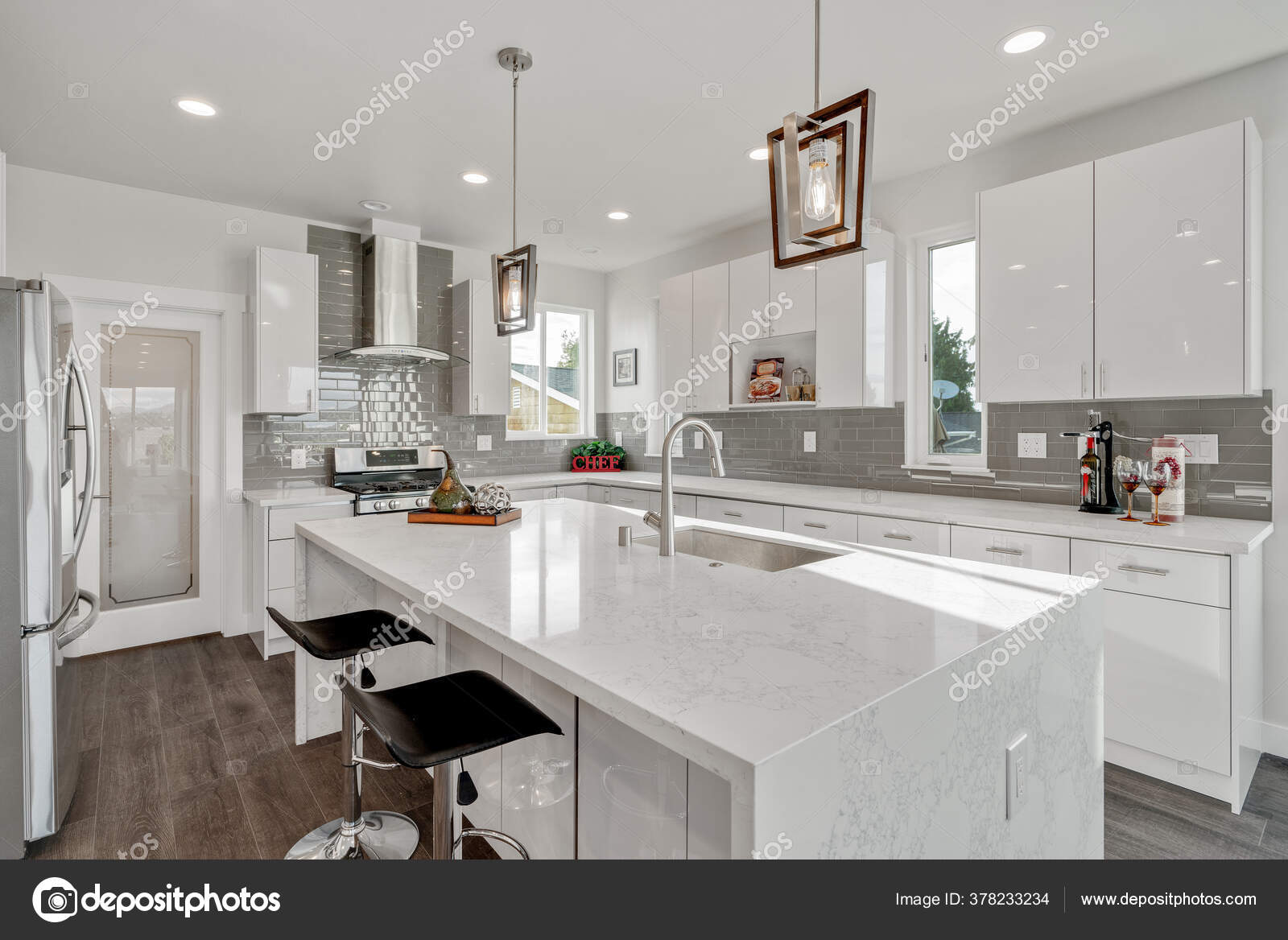 https depositphotos com 378233234 stock photo neutral bright airy kitchen large html