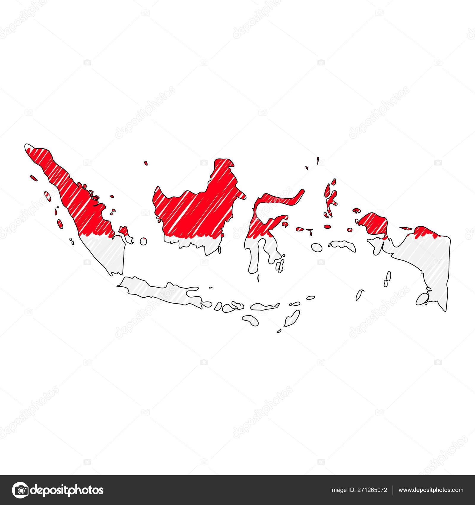 10 contoh gambar peta indonesia yang mudah digambar dapatkan pelbagai variasi wallpaper untuk smartphone maupun laptop anda secara tidak dipungut bayaran tanpa ribet dan tidak perlu mendaftar apapun. Peta Gambar Tangan Indonesia Stok Vektor Ilustrasi Peta Gambar Tangan Indonesia Bebas Royalti Depositphotos