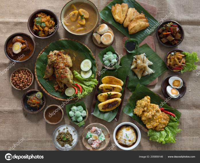 Indonesian Or Javanese Traditional Food Stock Photo Image By C Odua 205859146