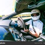 Race Car Driver In An Aston Martin Sports Car Stock Editorial Photo C Sunshineseeds 254777298