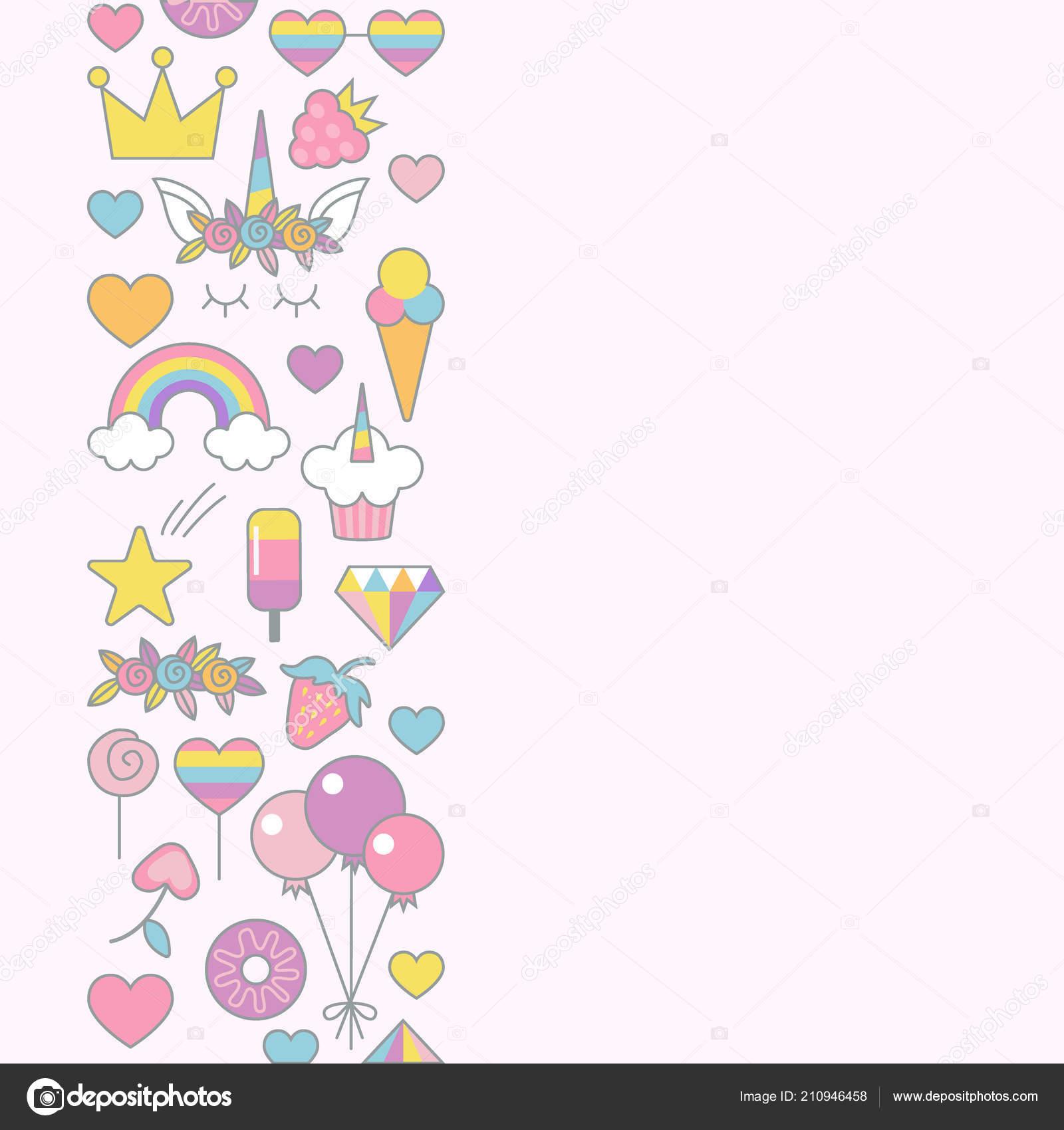 https depositphotos com 210946458 stock illustration unicorn objects flat vector design html