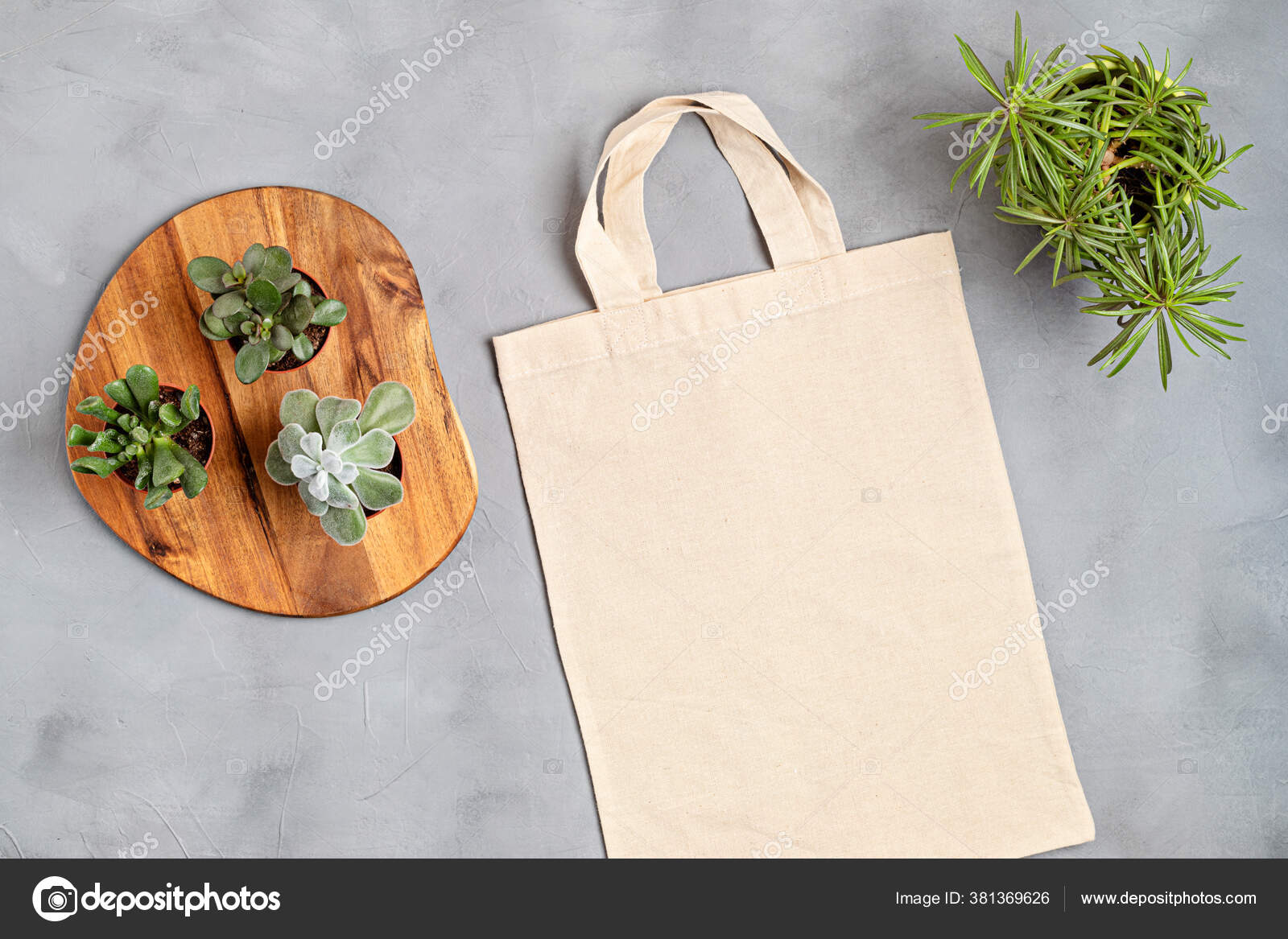 Showcase your brand on the go! Cotton Tote Bag Mockup Zero Waste Living Sustainability Eco Friendly Stock Photo By C Netrun78 381369626
