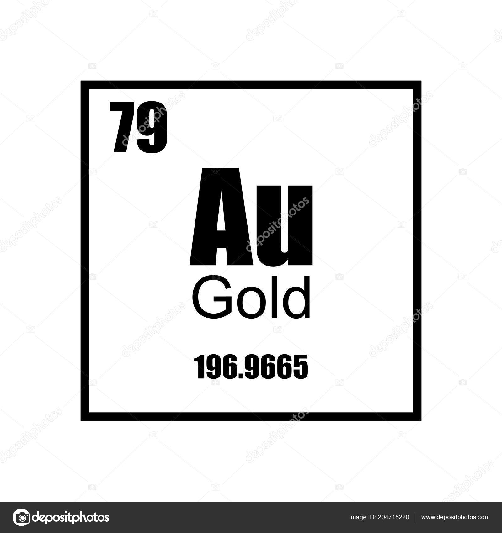 Gold Element Periodic Table