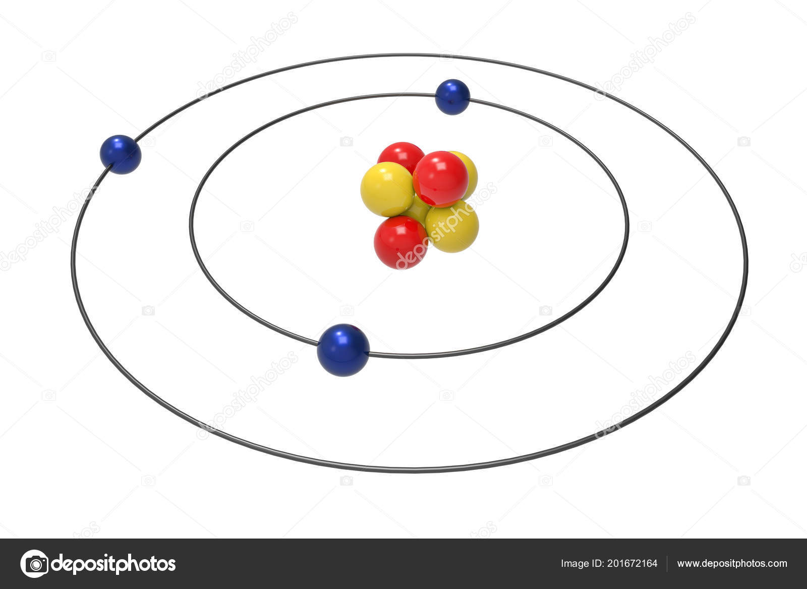 Diagram Of Atom Science