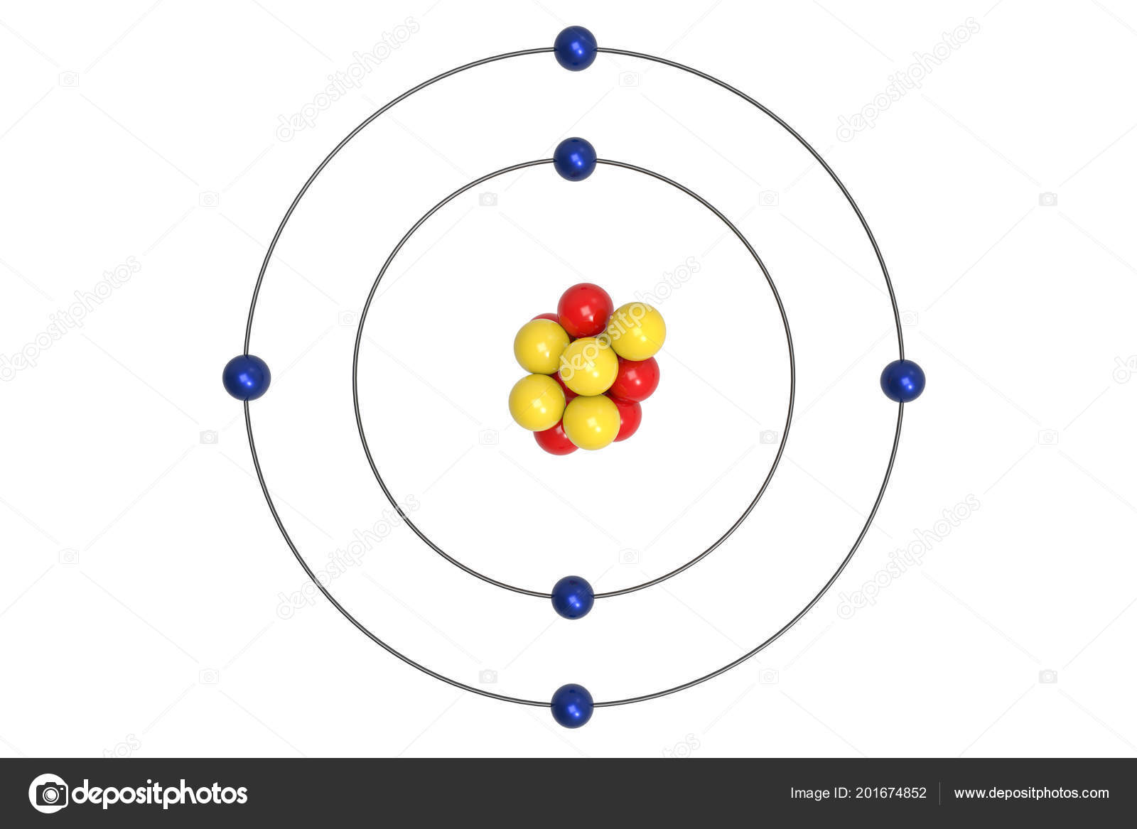Diagram Of Atom Science