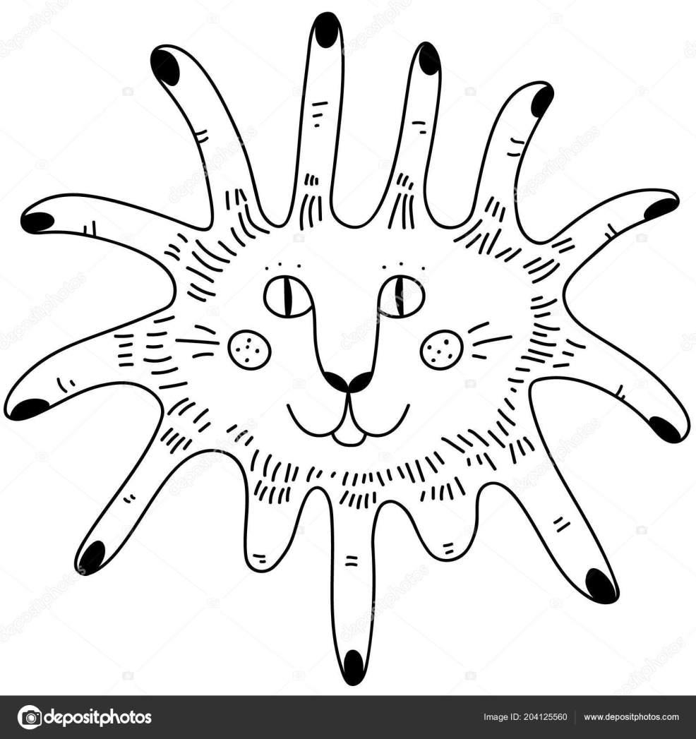 стороны обращено черный белый простые тату каракули пальцев карты