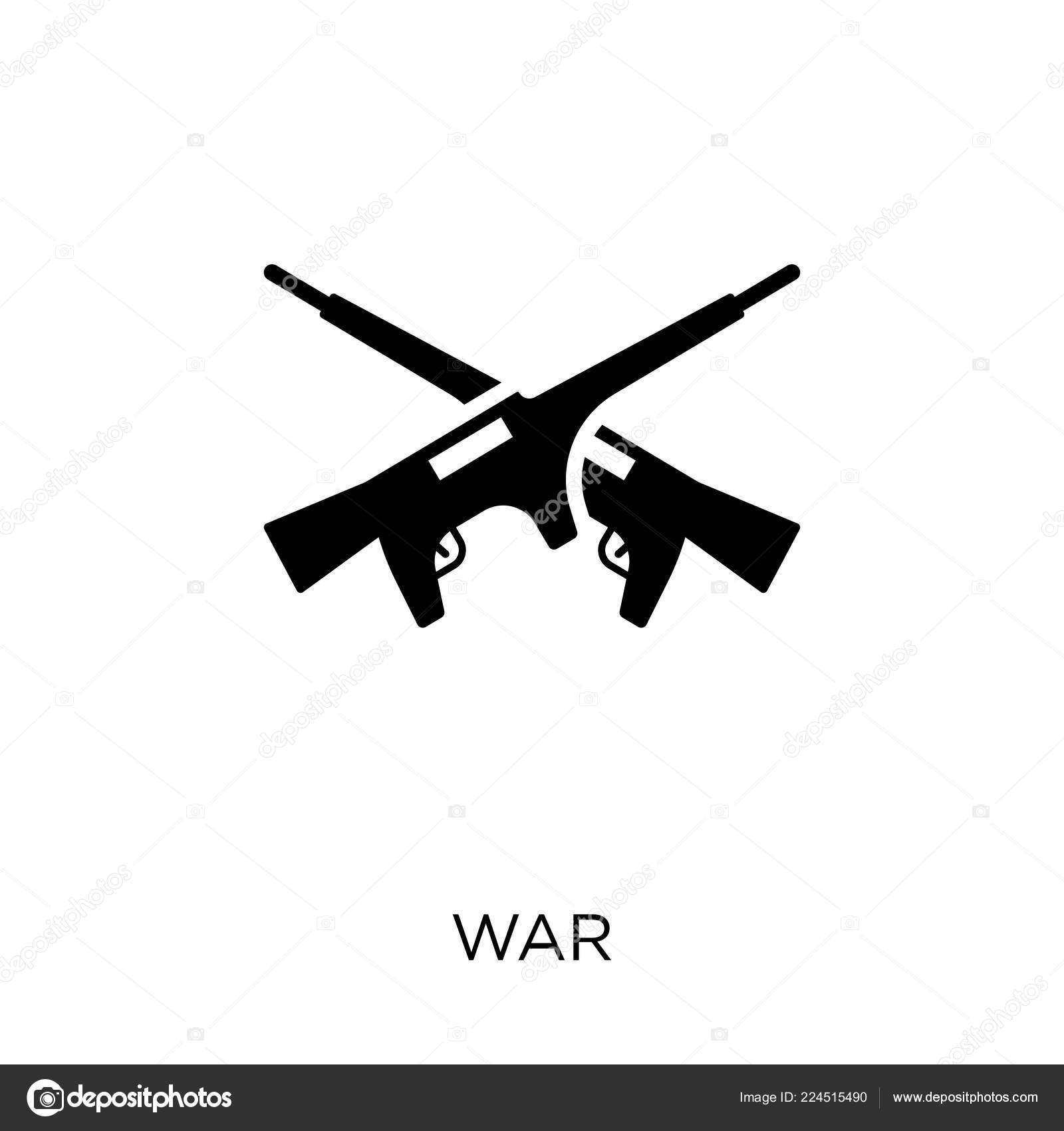 War Icon War Symbol Design Political Collection Simple