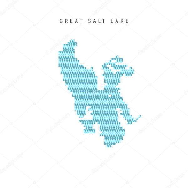 vector illustration great lakes silhouettes stock clip - 800×800