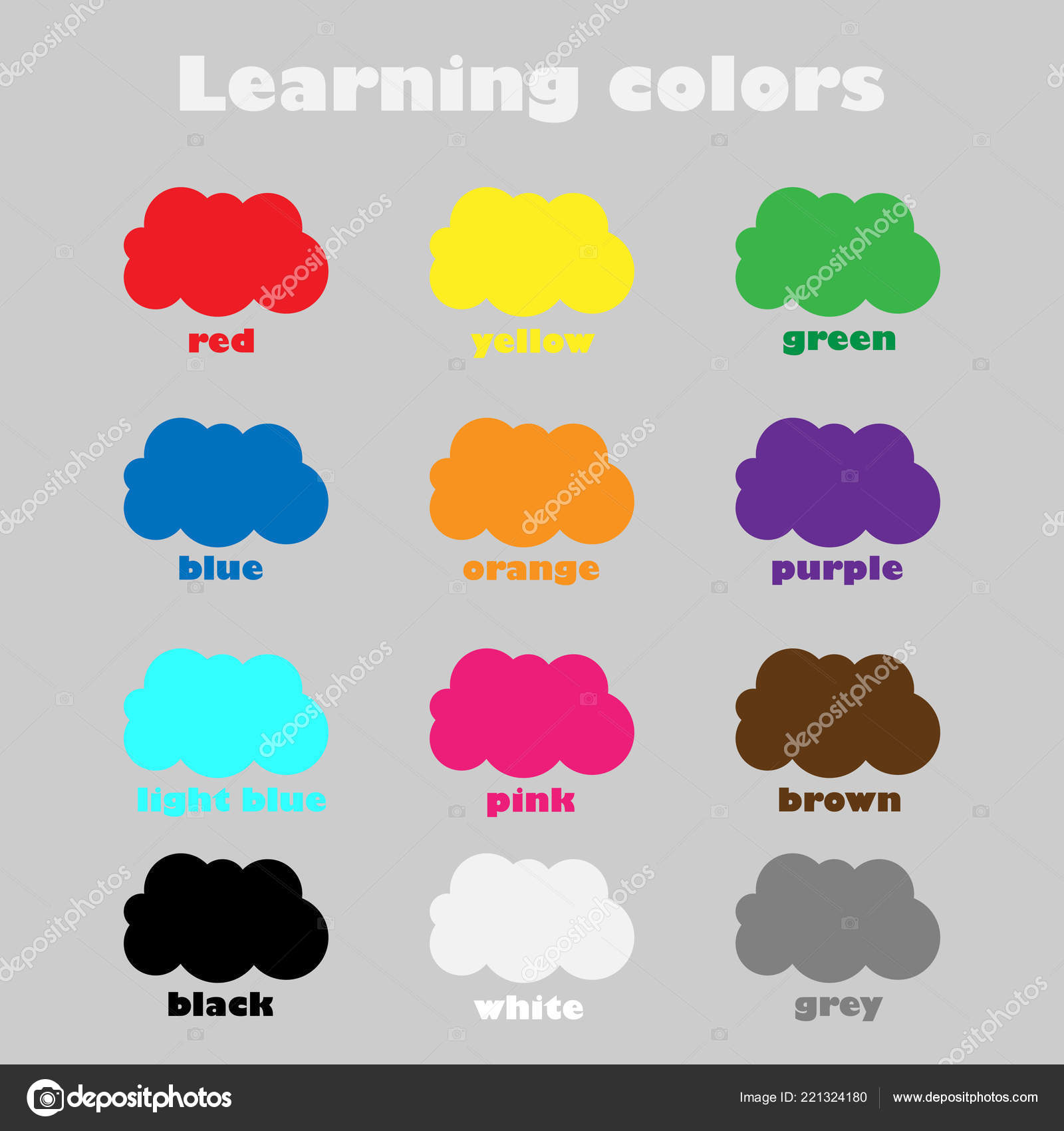 Learning Colors Children Fun Education Game Kids Colorful