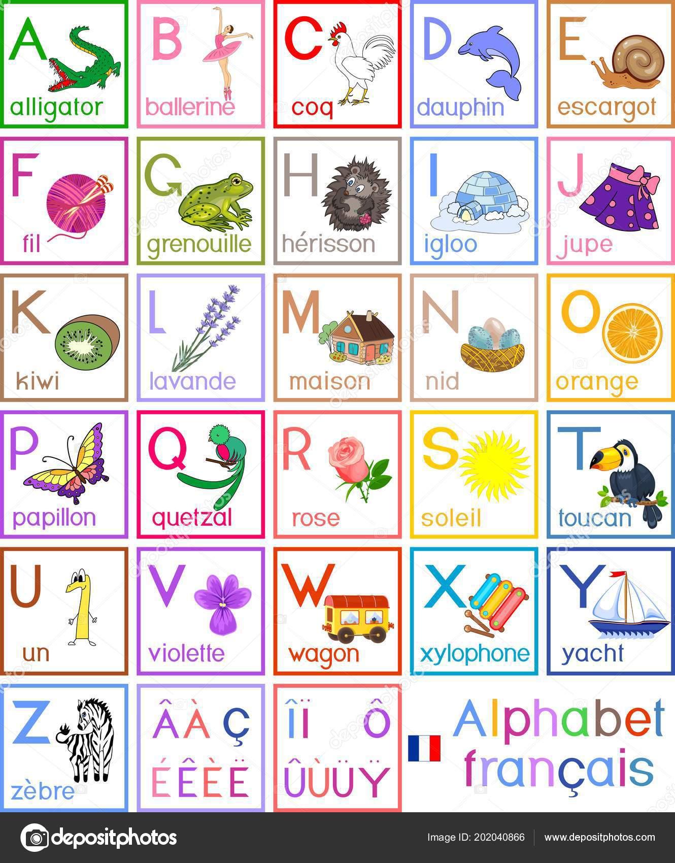 Alphabet Francais Maternelle