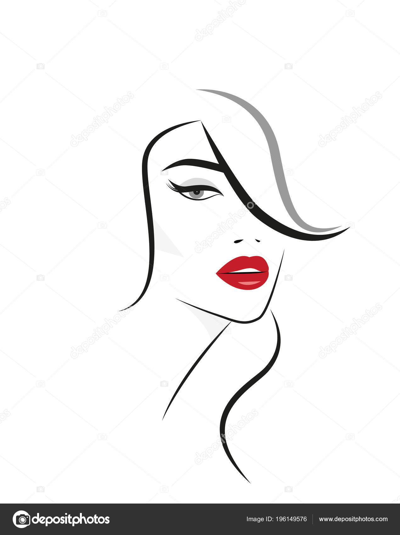 Animated African Woman Red Lips Wiring Diagram Database