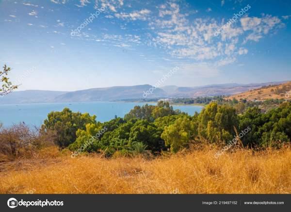 Море Табге Галилейское Море Красивая Природа Израиля ...