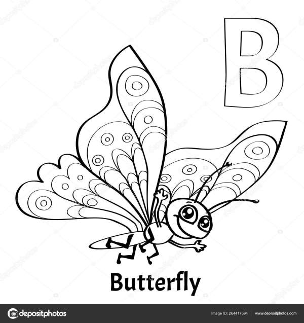 letter b coloring page # 45