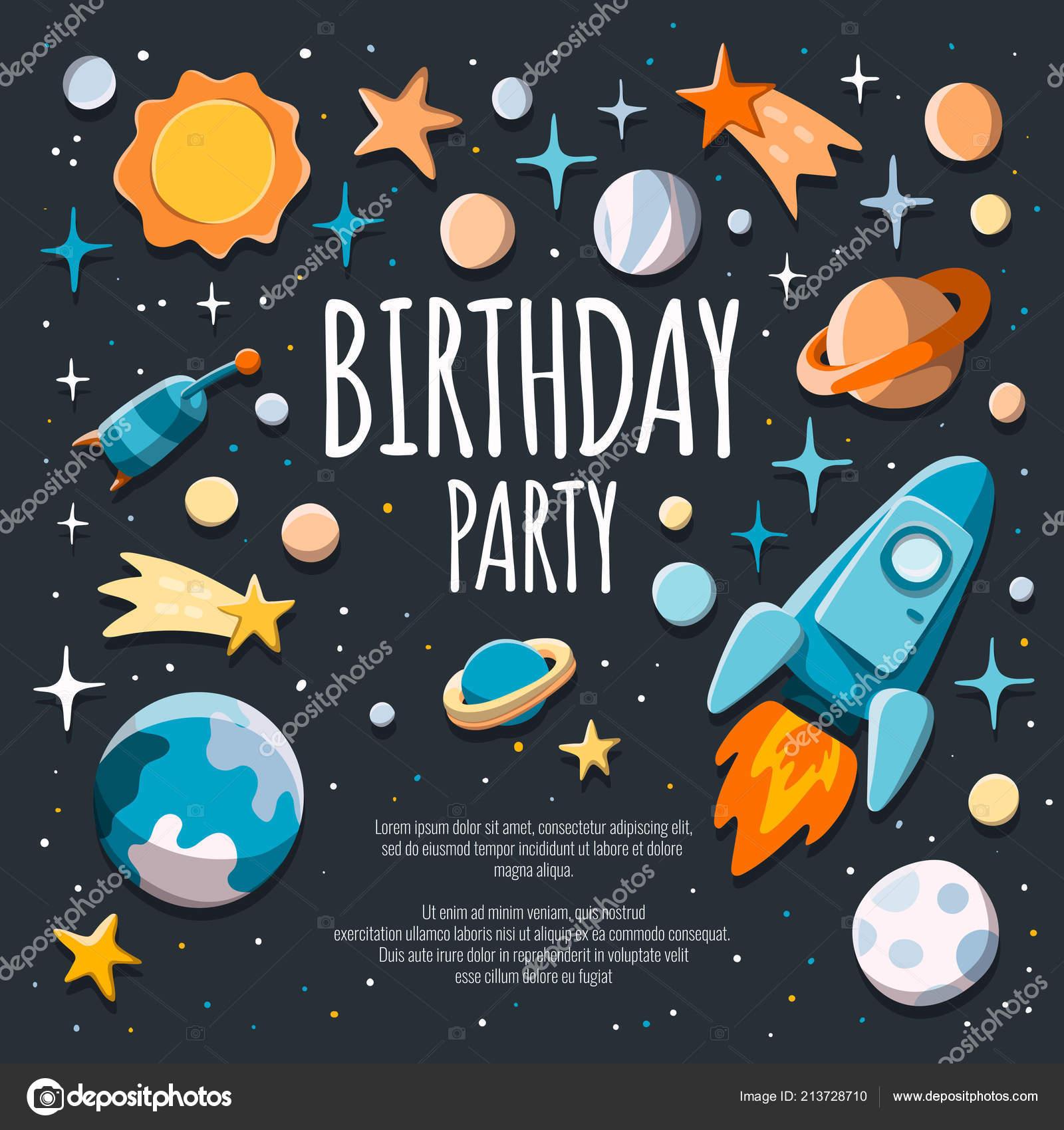 https depositphotos com 213728710 stock illustration birthday party invitation flyer poster html