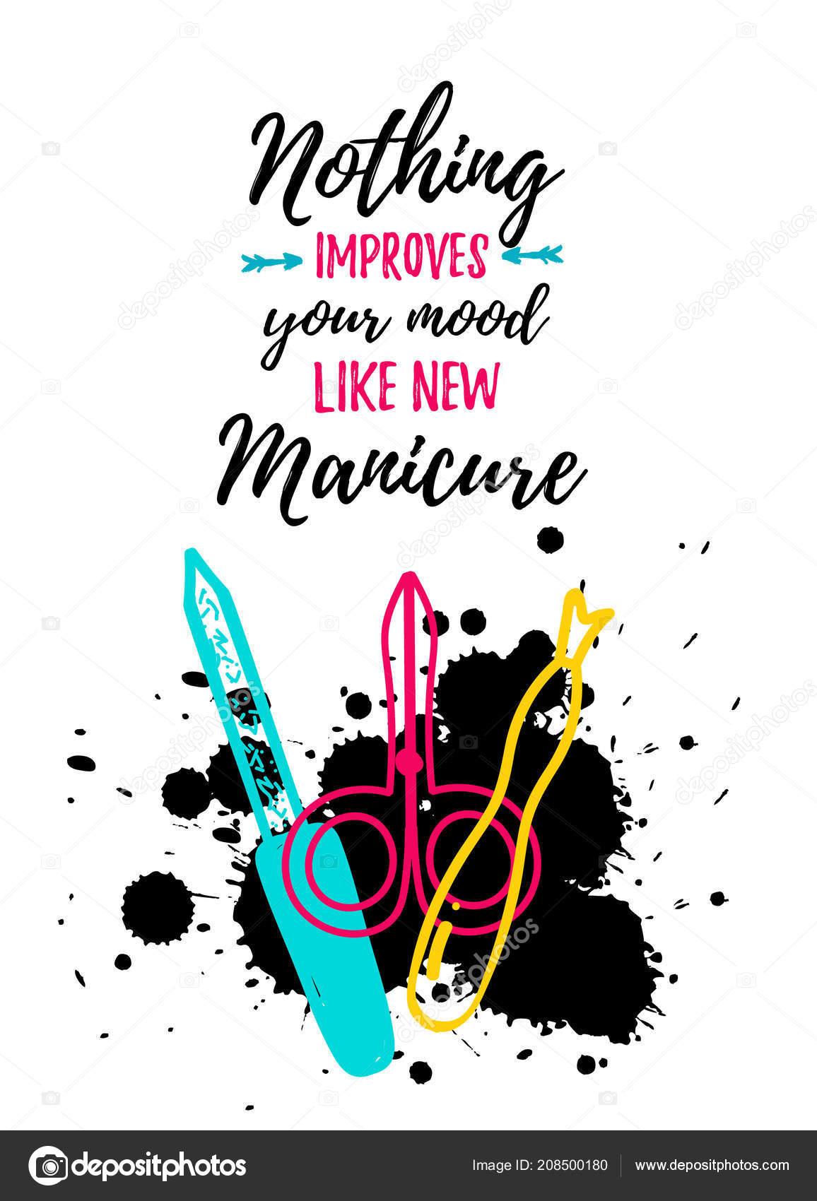 https depositphotos com 208500180 stock illustration manicure poster modern colorful style html