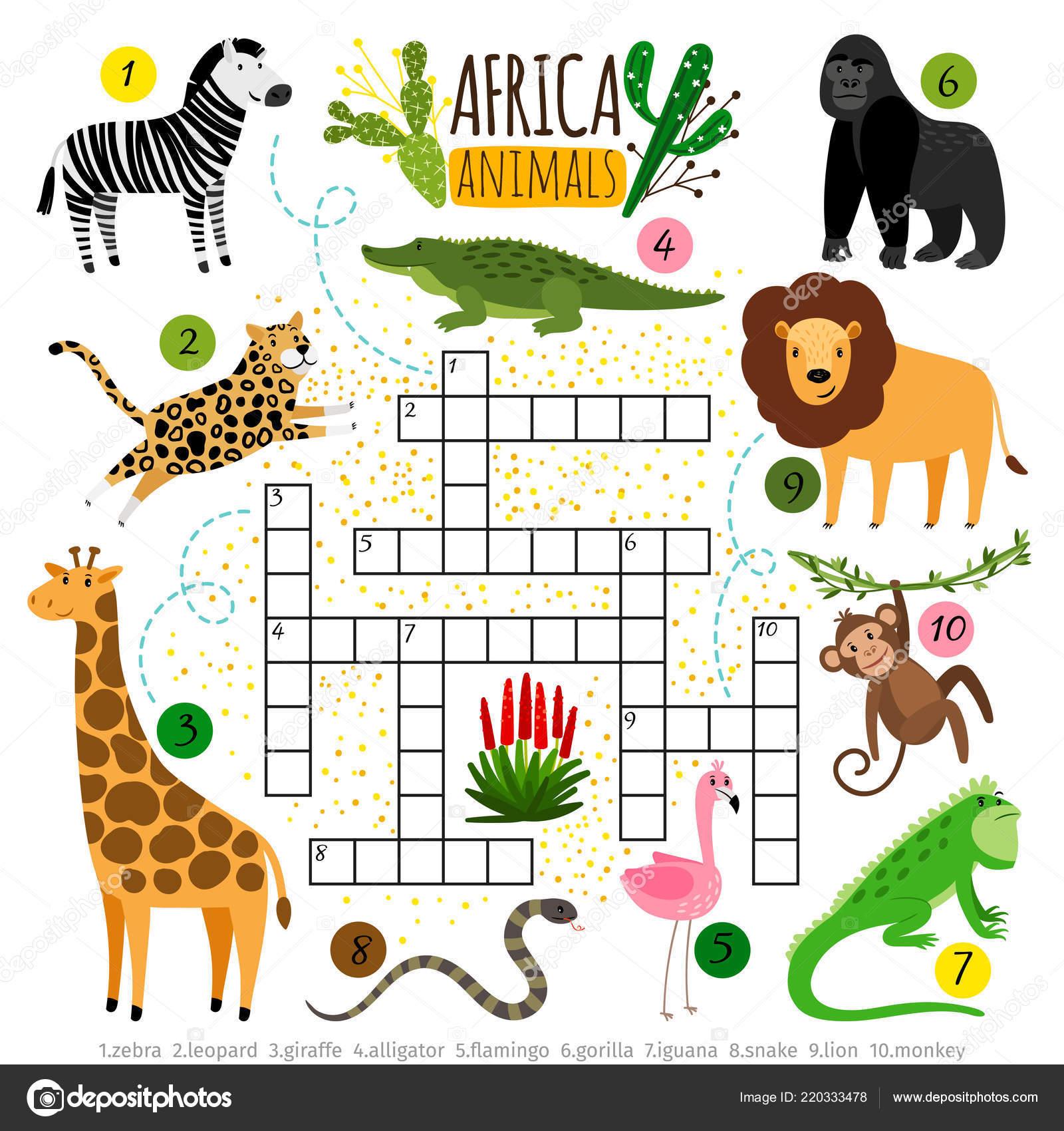 Ilustracion Vectorial Del Alfabeto De Dibujos Animados Con