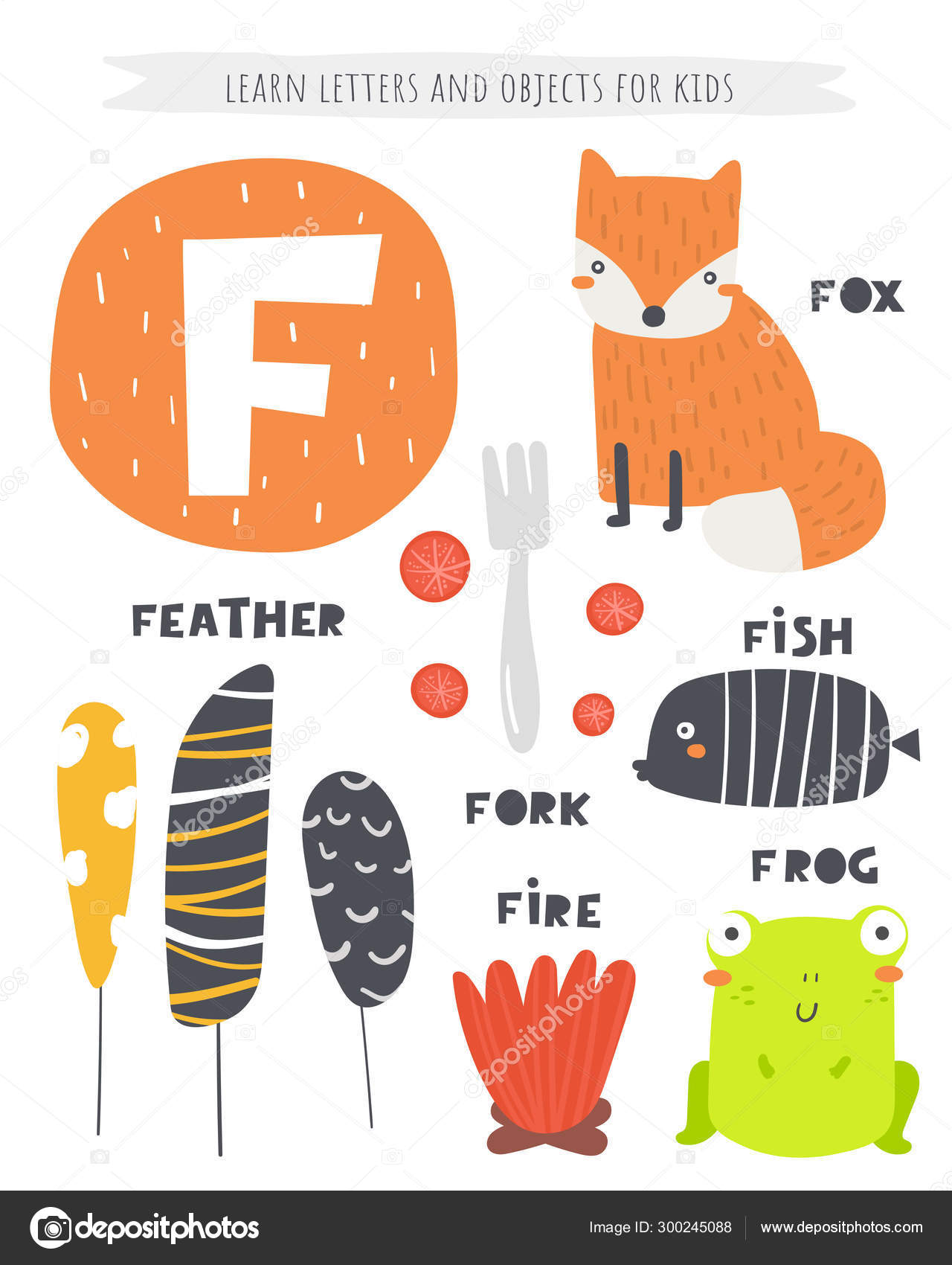 English Alphabet Letters With Pictures And Words