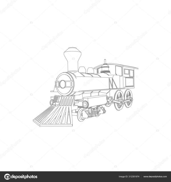 train coloring # 57