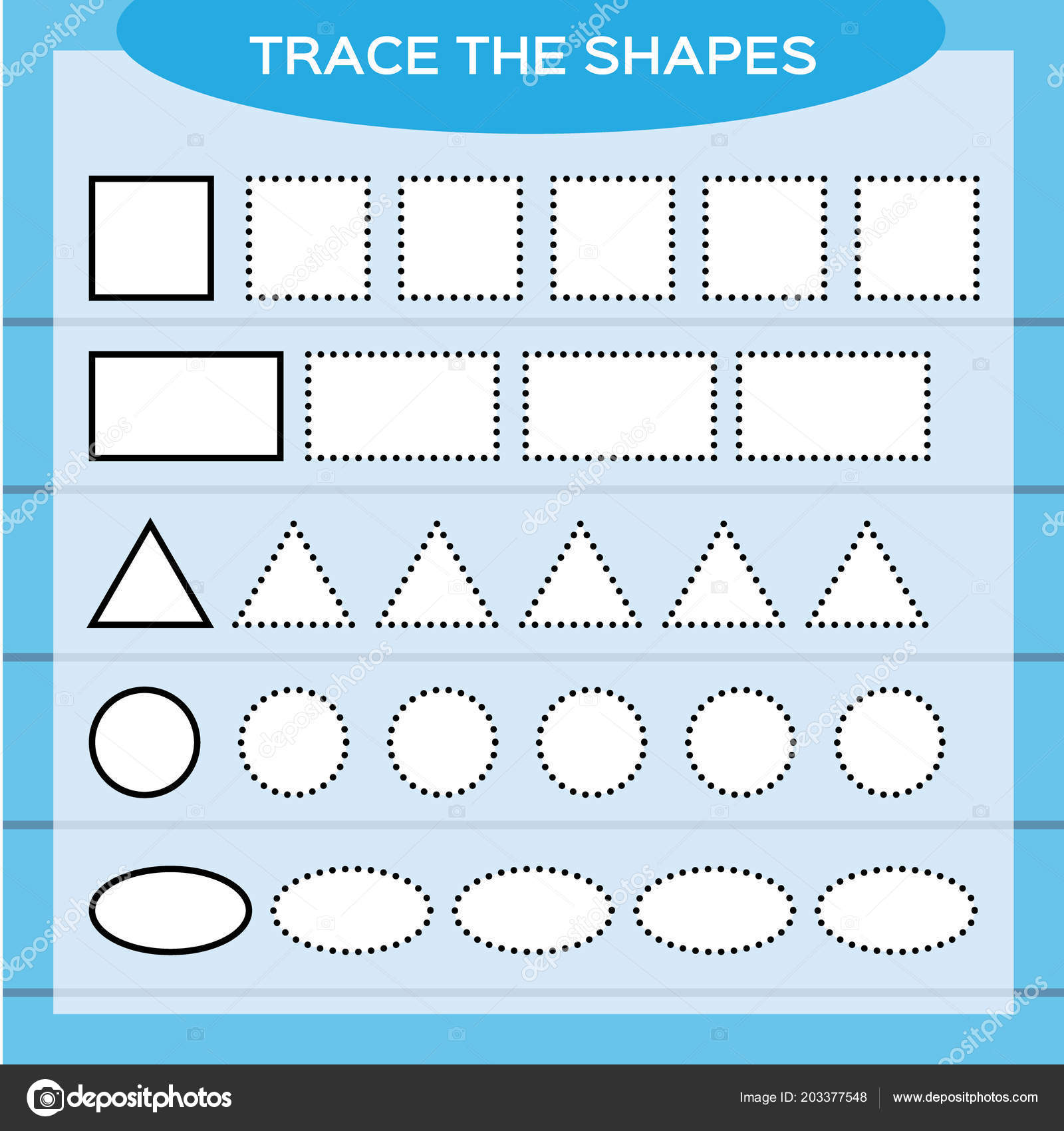 Circle And Square Worksheet