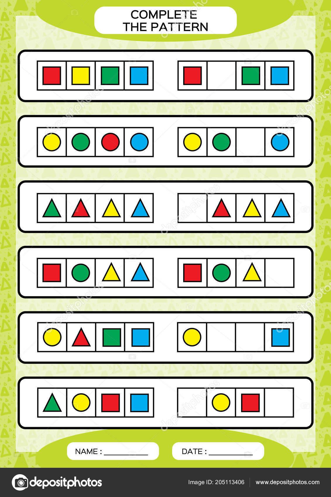 Patrones De Figuras Geometricas Para Colorear Colorear