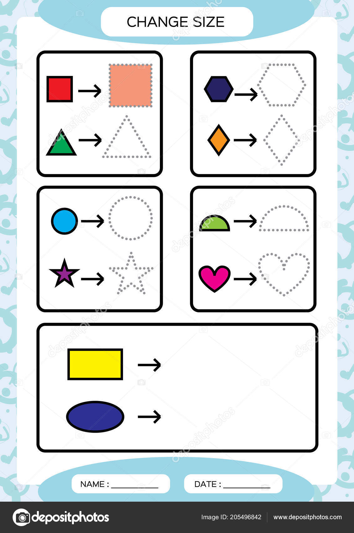 Practice Drawing Shapes For Preschoolers