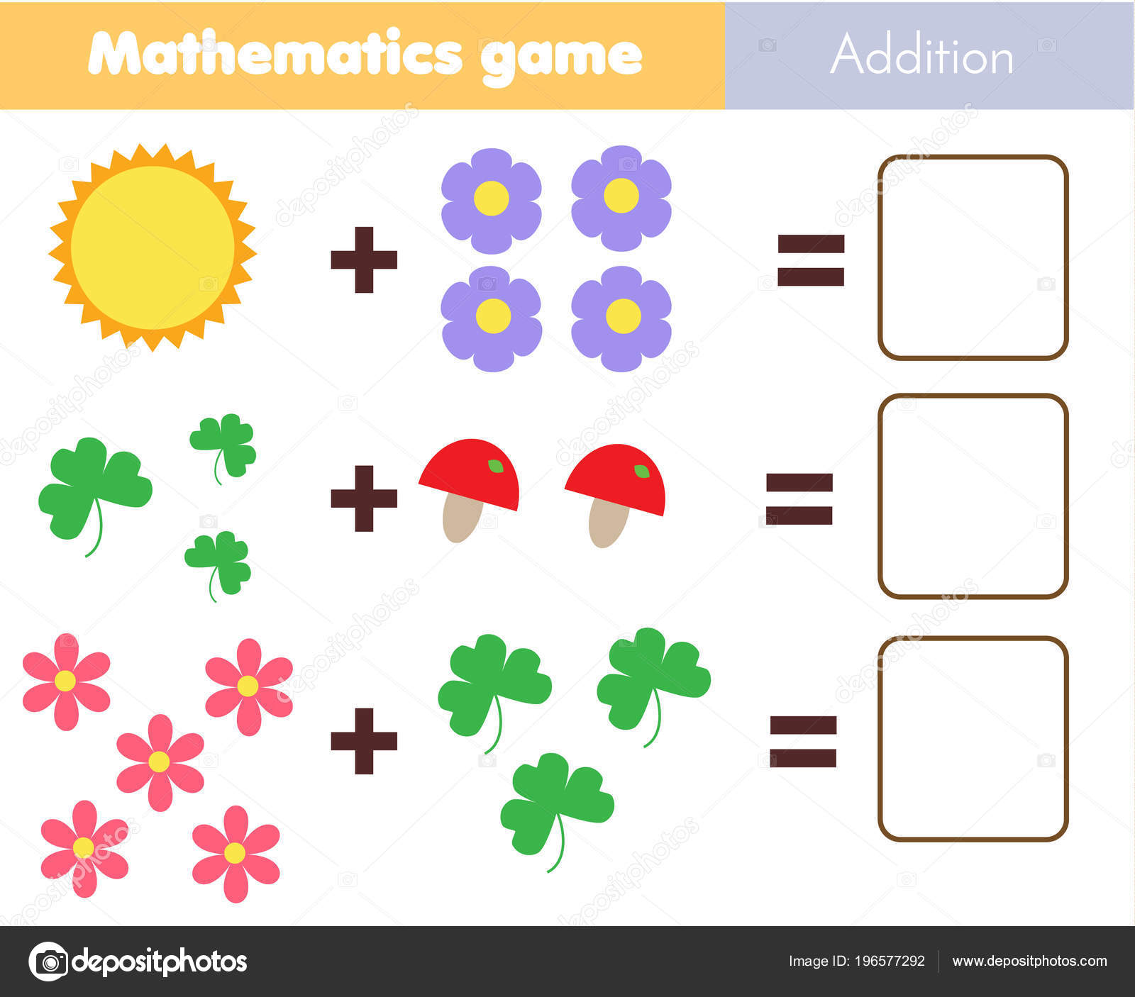 Math Worksheets For Kindergarten Counting