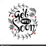 Get Well Soon Greeting Card Vector Image By C Handini Vector Stock 265365160