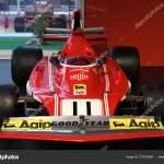 Mugello October 2017 Vintage Ferrari 312 1974 Clay Regazzoni Niki Stock Editorial Photo C Dan74 270724884