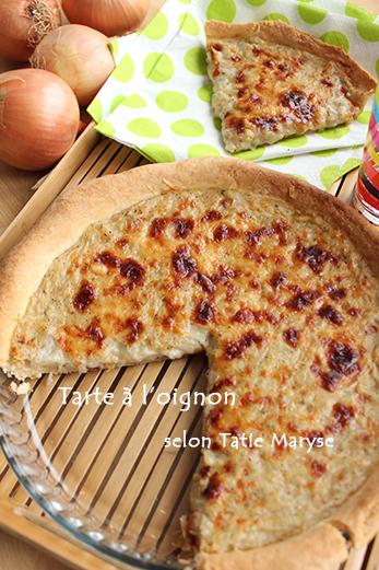 recette de la tarte a l oignon selon tatie maryse