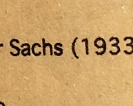 Oliver Sachs is Oliver Sacks. I am the man who mistook an h for a k.