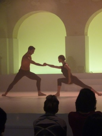 Xenia Wiest und Arshak Ghalumyan in TO BE CONTINUED