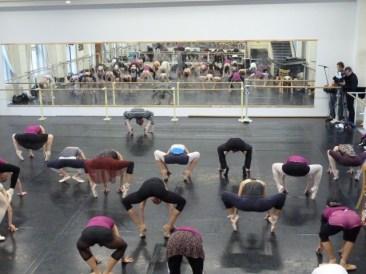 Damen-Training beim SBB