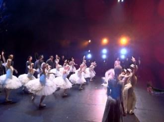 ... bei der ersten TSCHAIKOWSKY-Aufführung (und einer Probe)...