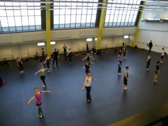 Die Tänzerinnen...