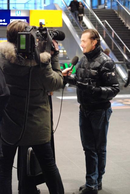 Giorgio Madia danach im Interview.