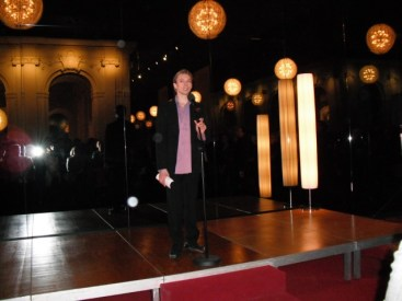 Vladimir Malakhov bei der Dankesrede.