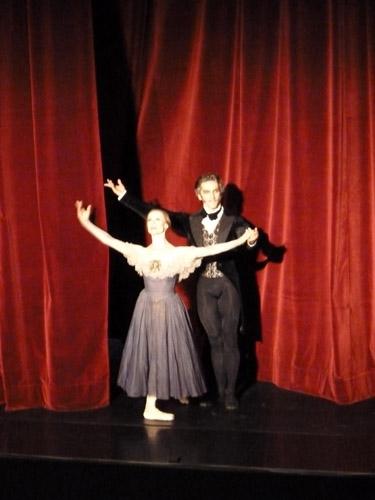 Vor dem Vorhang: Nadja Saidakova & Mikhail Kaniskin