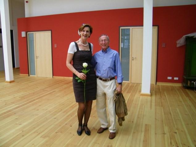 Christiane Theobald und Tom Schilling im FOYER DE LA DANSE.