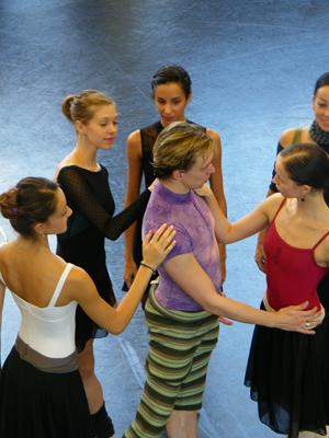 Nicoletta Manni, Haley Schwan, Anissa Bruley, Xenia Wiest und halb verdeckt Natalia Munoz.