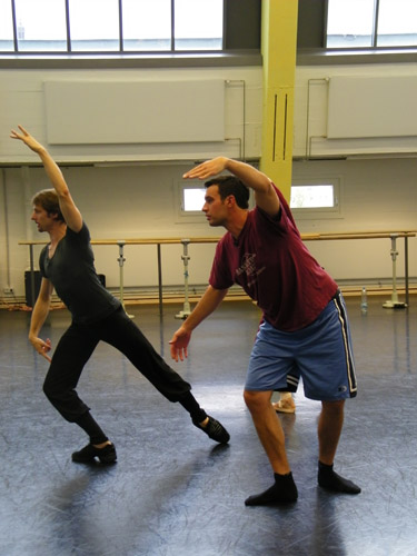 ... des klassischen Balletts beizubringen.