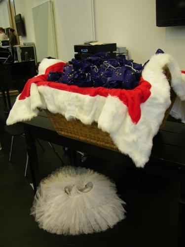 Geschenke und Tutu. ;-)
