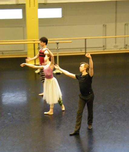 Alexander, Ekaterina und Vladimir
