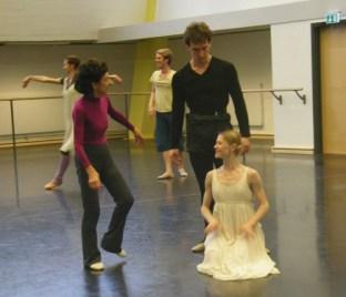 Georgette Tsinguirides mit Mikhail & Nadja.