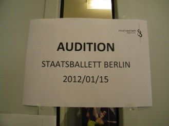 ... Audition! :-)