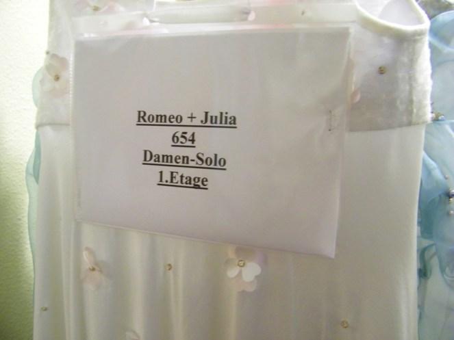 Bühnenprobe ROMEO UND JULIA
